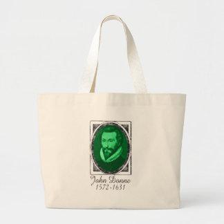 John Donne Large Tote Bag