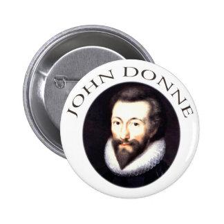 John Donne Pinback Button