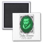 John Donne Refrigerator Magnet