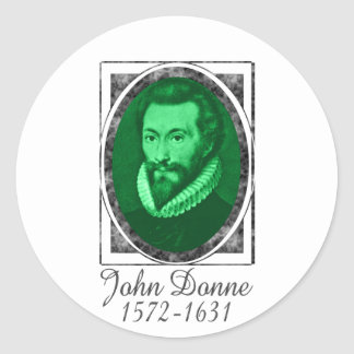 John Donne Sticker