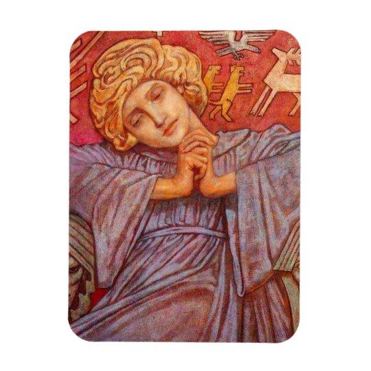 John Duncan Seated Angel Magnet