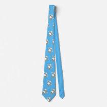 John Dyer Blue Seagull Tie