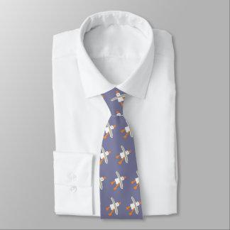 John Dyer lavender blue seagull designer tie