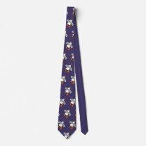 John Dyer purple Seagull Tie