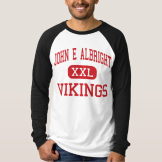 John E Albright - Vikings - Middle - Villa Park T-Shirt