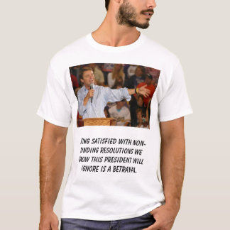 John_Edwards, Being satisfied with non-binding ... T-Shirt