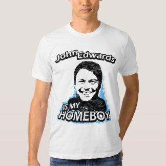John Edwards es mi homeboy Camisas