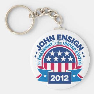 John Ensign for President 2012 Keychain