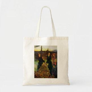 John Everett Millais- Autumn Leaves Tote Bag