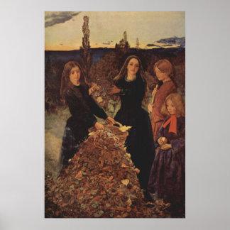 John Everett Millais - Autumn Posters