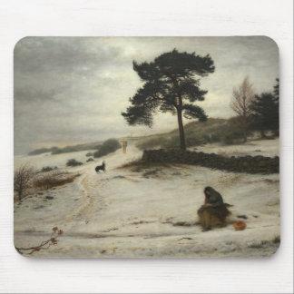 John Everett Millais - Blow Blow Thou Winter Wind Mouse Pad