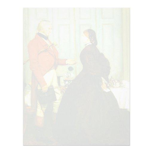 John Everett Millais: Confíeme en Membrete A Diseño