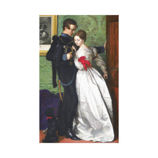 John Everett Millais el Brunswicker negro Impresión En Lienzo