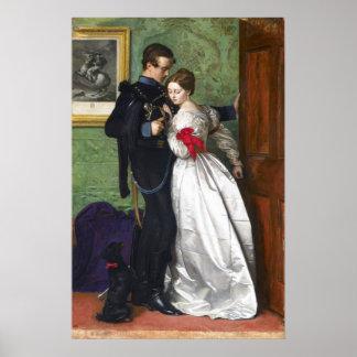John Everett Millais el Brunswicker negro Póster