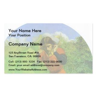 John Everett Millais- Ferdinand Lured by Ariel Business Card