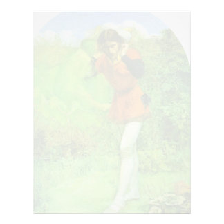 John Everett Millais- Ferdinand Lured by Ariel Customized Letterhead