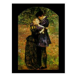 John Everett Millais Isabel hugonote Postales