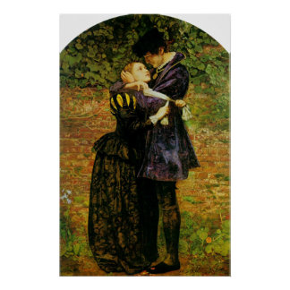 John Everett Millais Isabel hugonote Póster