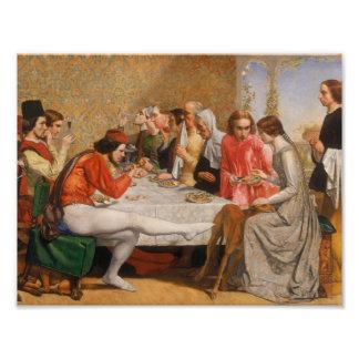 John Everett Millais - Isabella Photo Print