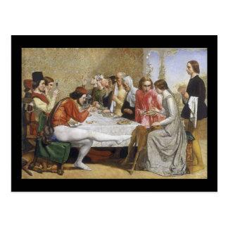 John Everett Millais Isabella Postcard