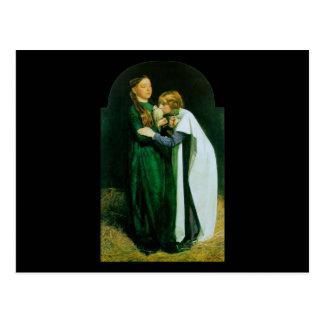 John Everett Millais la vuelta de la paloma Tarjetas Postales
