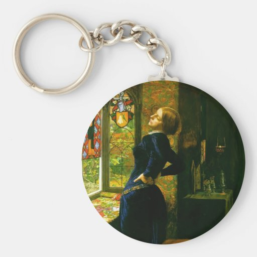John Everett Millais- Mariana in the Moated Grange Keychains
