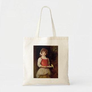 John Everett Millais- Merry Canvas Bag