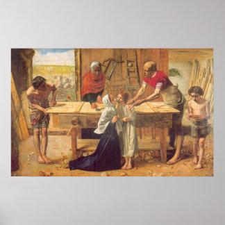 John Everett Millais Millais christ in the house Print