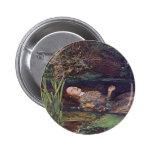 John Everett Millais Ophelia 2 Inch Round Button