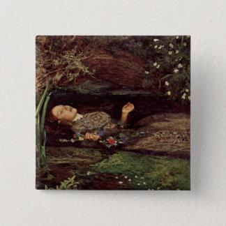 John Everett Millais Ophelia Button