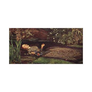 John Everett Millais Ophelia Canvas Print