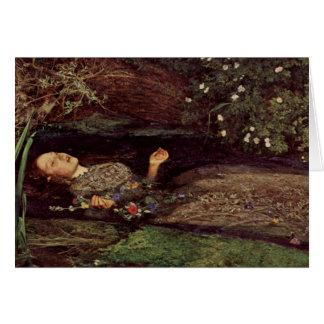 John Everett Millais Ophelia Greeting Card
