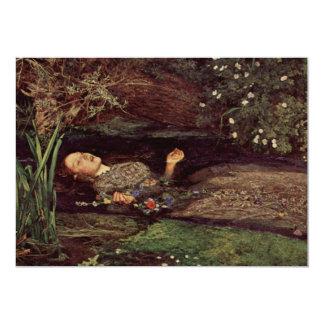 John Everett Millais Ophelia Invitations
