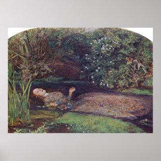 John Everett Millais Ophelia Posters