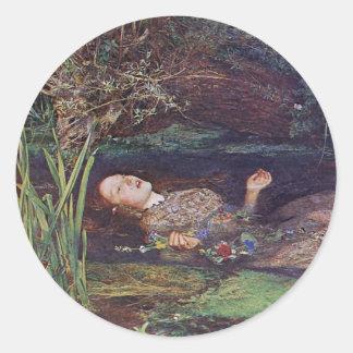 John Everett Millais Ophelia Sticker