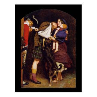 John Everett Millais Order of Release Postcard