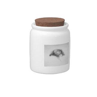 John Everett Millais- Study for Ophelia Candy Jar