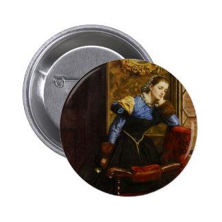John Everett Millais- Swallow, Swallow Pinback Button