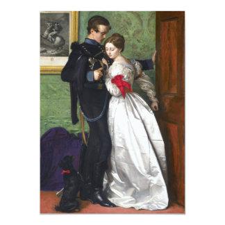 John Everett Millais The Black Brunswicker 5x7 Paper Invitation Card