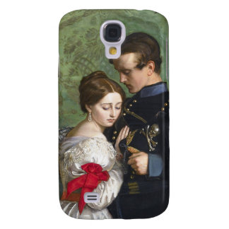 John Everett Millais The Black Brunswicker Galaxy S4 Cover