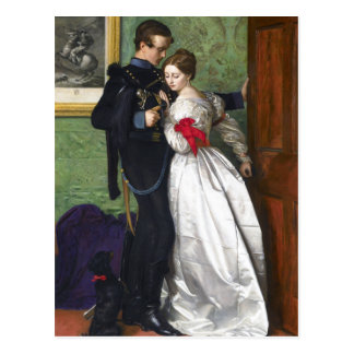 John Everett Millais The Black Brunswicker Postcard