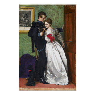 John Everett Millais The Black Brunswicker Poster