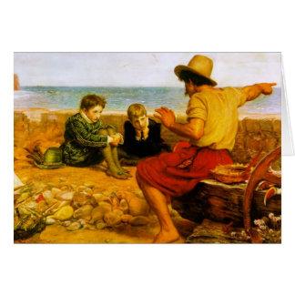 John Everett Millais- The Boyhood of Raleigh Card