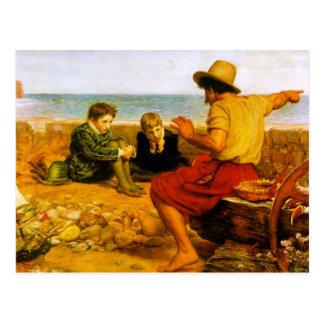 John Everett Millais- The Boyhood of Raleigh Postcards