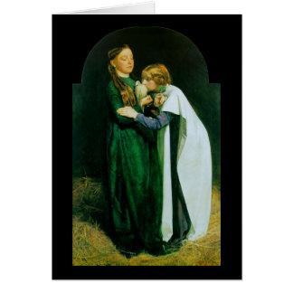 John Everett Millais The Return of the Dove Card