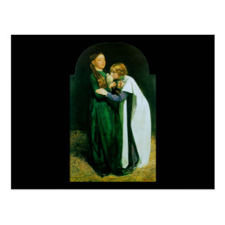 John Everett Millais The Return of the Dove Postcard