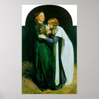 John Everett Millais The Return of the Dove Poster