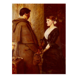 John Everett Millais- Yes Postcard