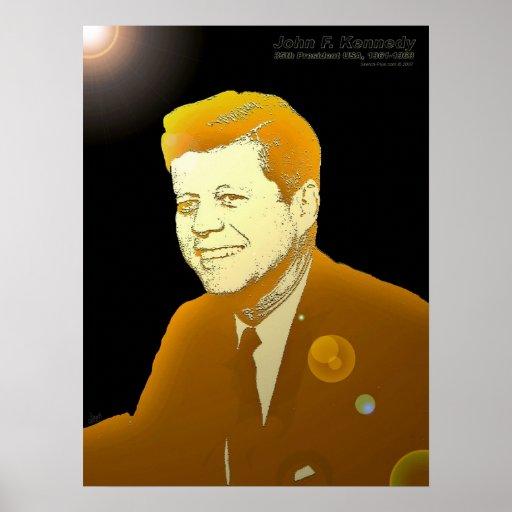 John F. Kennedy-18x24-PRINT