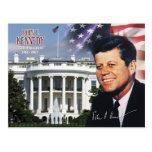 John F. Kennedy - 35to presidente de los E.E.U.U. Tarjetas Postales